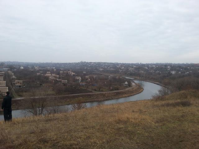 Возвышенность у моста Белелюбского.