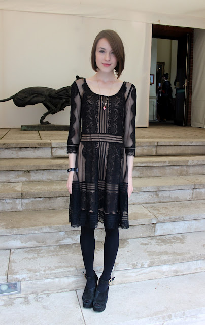 Ella Catliff at Vogue Festival 2012