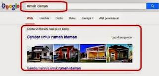 Cari Rumah Idaman Pilihan Anda lewat Google