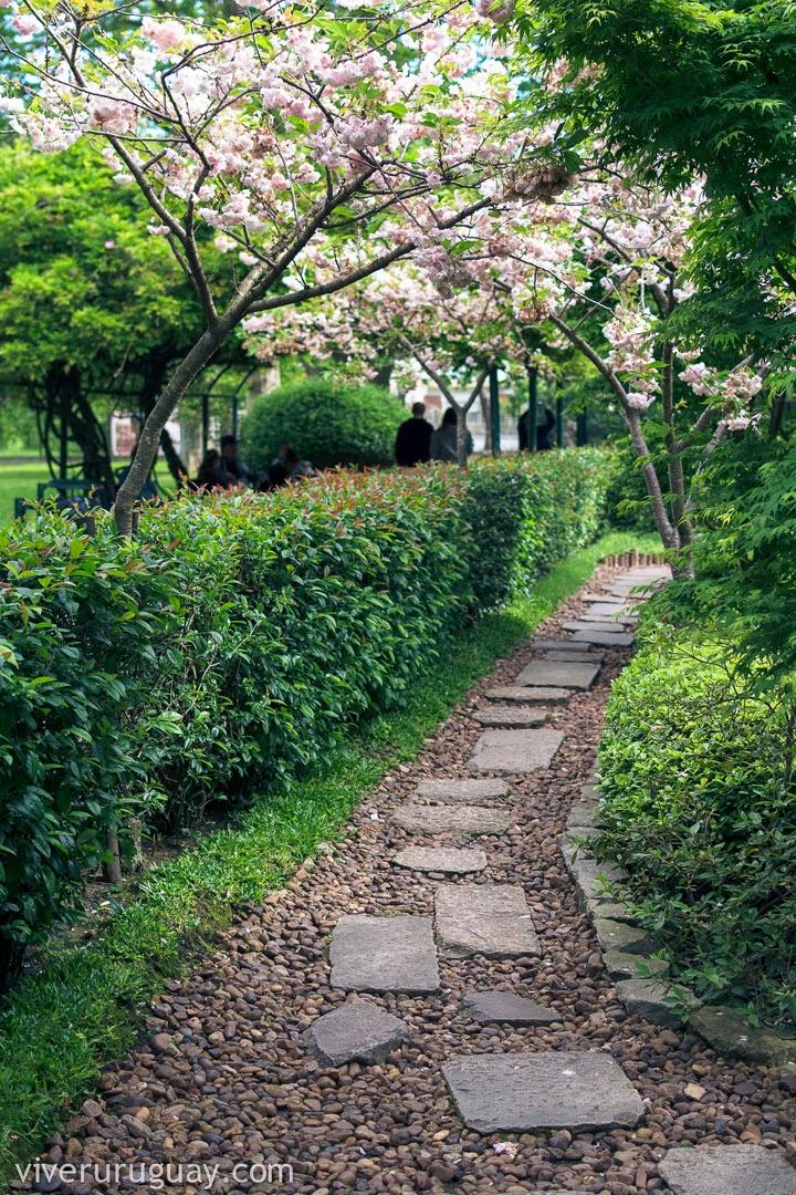 Jardim Japonês em Montevidéu