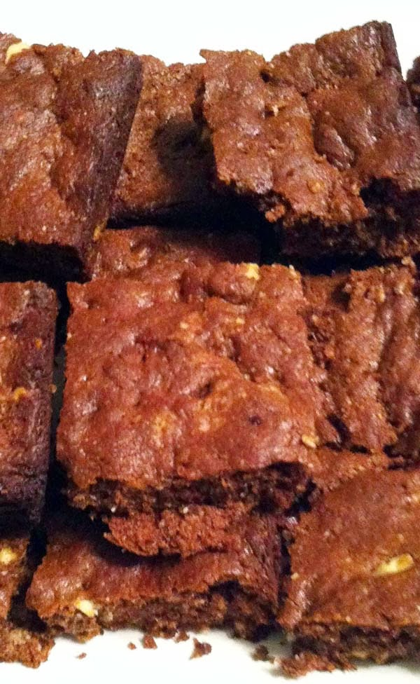 Healthy Flourless Almond Butter Brownies Recipe