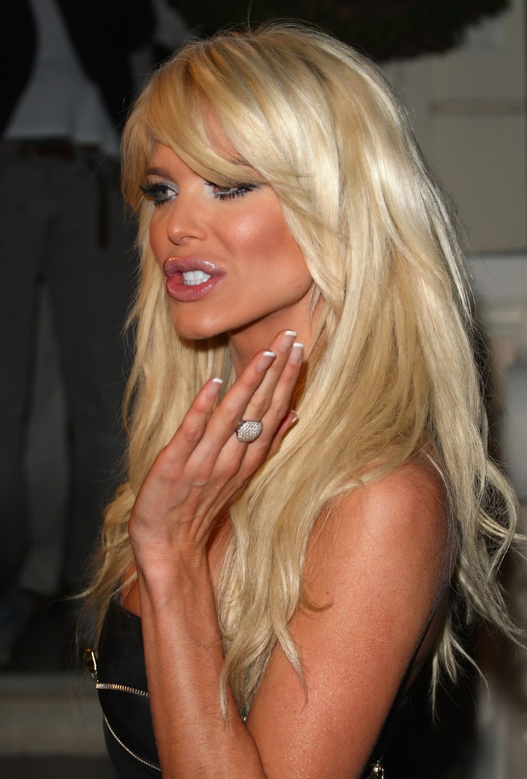 Talk this Victoria silvstedt nu from