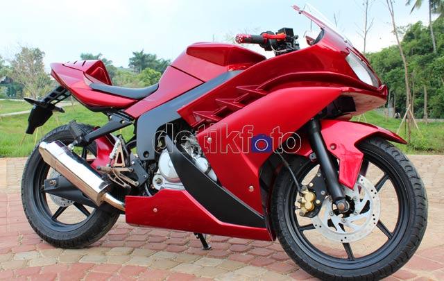 Modifikasi Motor Yamaha Scorpio title=