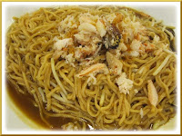 Fried Emperor Noodle with crab meat