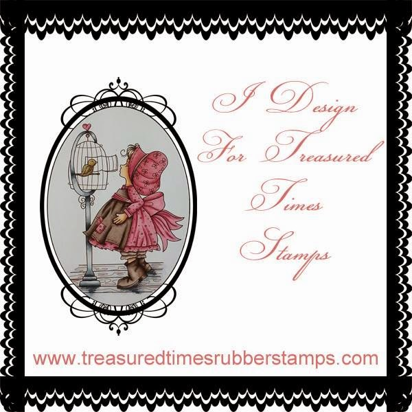 I am Designer of Treasured Times Stamps