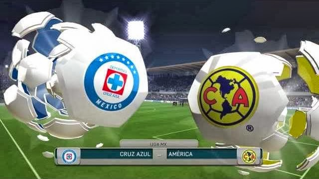 Videos | Liga MX: Cruz Azul vs América (Simulación FIFA 14 ...