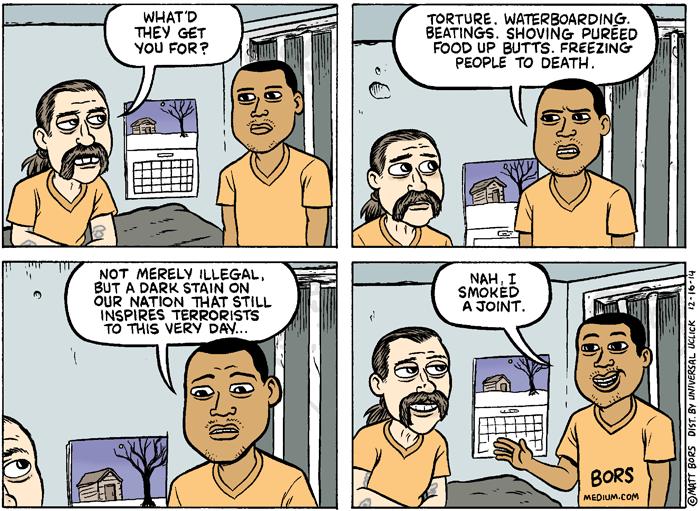 prison, marijuana, Matt Bors