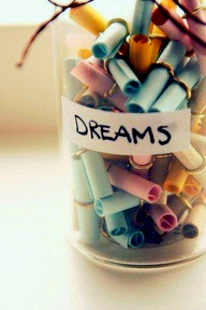 Dreams in a jar