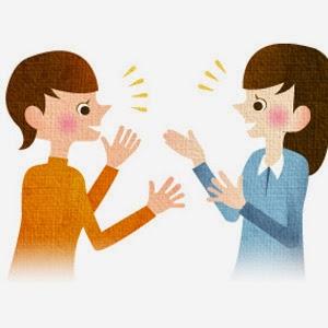 Ilustrasi Komunikasi Beretika | Sumber Gambar : Annehira.com