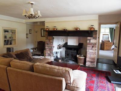 Inside 1821 house