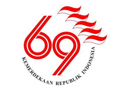 Logo Resmi Peringatan HUT Ke-69 Kemerdekaan Republik Indonesia