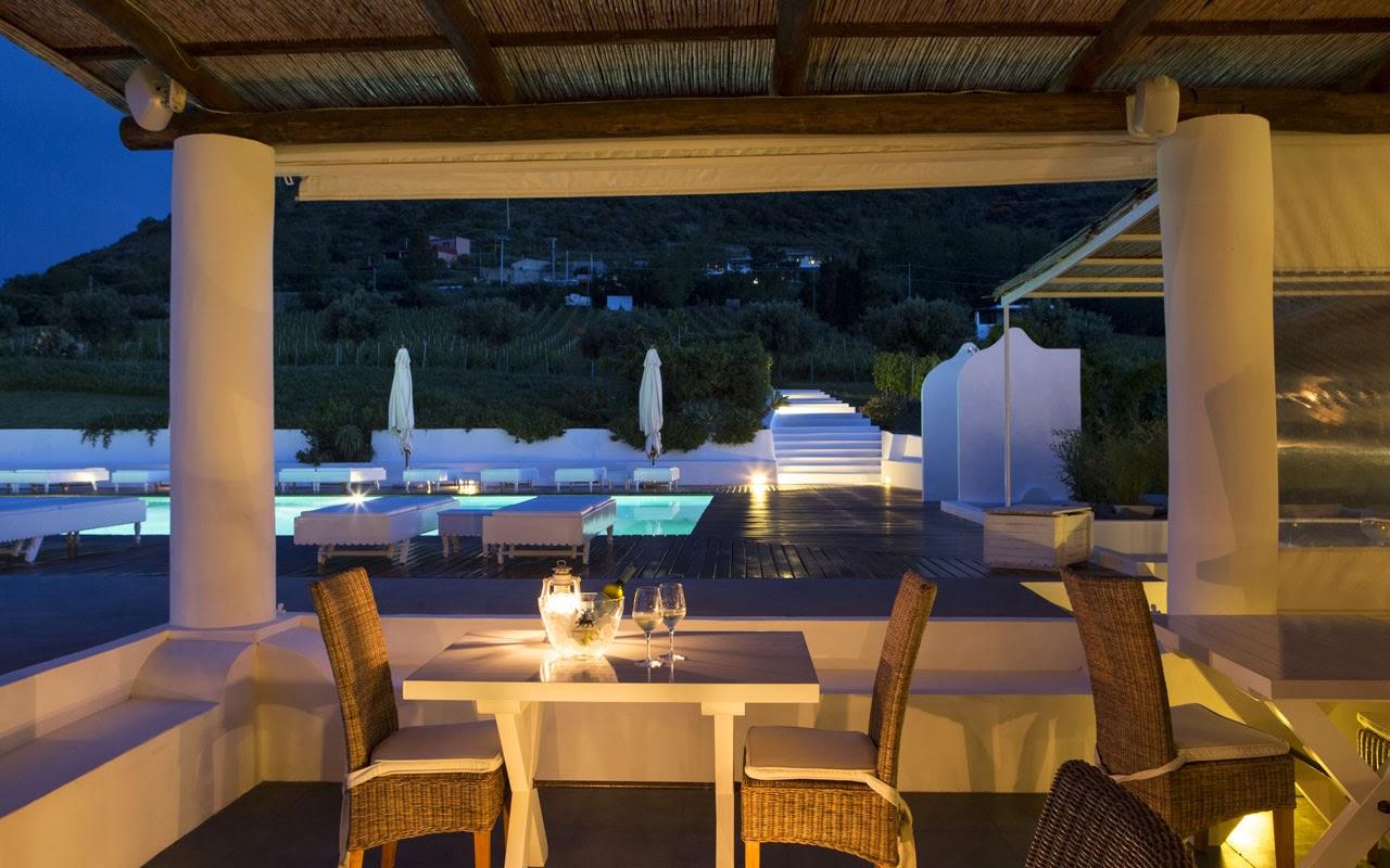 Malfa-Salina, Eolie (Italia) - Capofaro Malvasia and Resort 5* - Hotel da Sogno