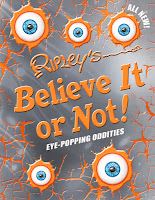 Ripley's Believe It or Not! Eye-Popping Oddities #EyePoppingOddities