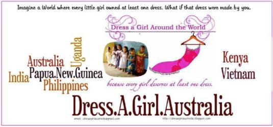 Dress A Girl Around the World - Dress A Girl Australia - Help spread the word around