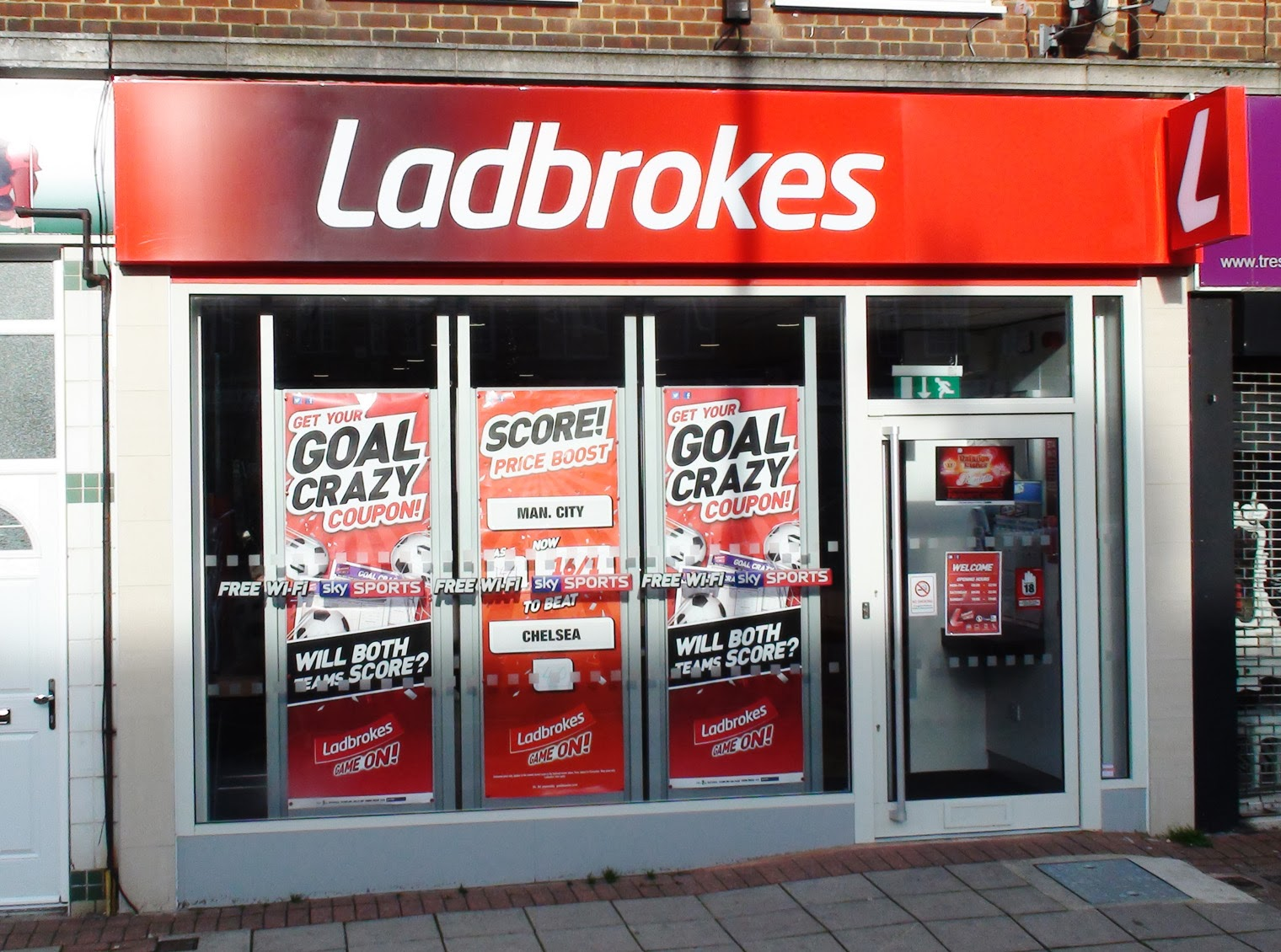 ladbrokes store finder ladbrokes casino promo code 2012 sports betting ...