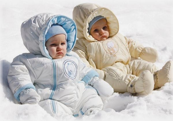 Уход за малышом в зимнее время