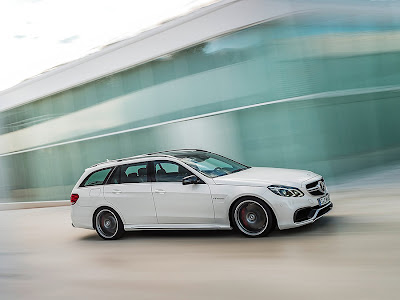 Mercedes E63 AMG Saloon and Estate