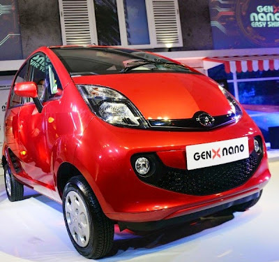 New 2015 Tata Nano Genx Photo Launching View