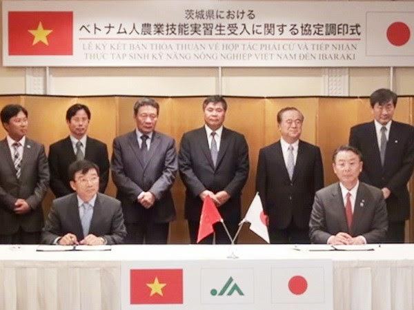 Hợp tác đào tạo thực tập sinh kỹ năng nông nhiệp Nhật Bản
