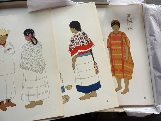 podio El traje indgena en Mxico