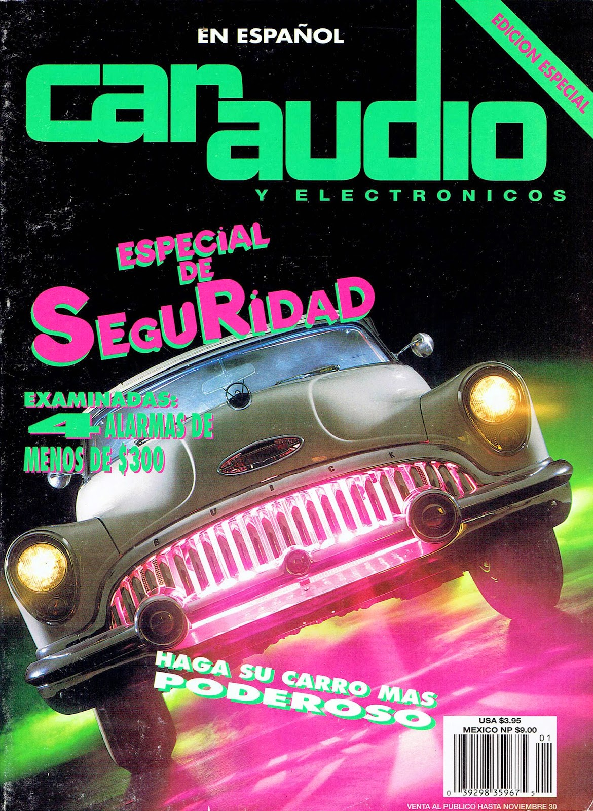 Image of Cover of Car Audio & Electronics Magazine Special Edition in Spanish