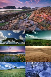пейзажи обои ландшафты