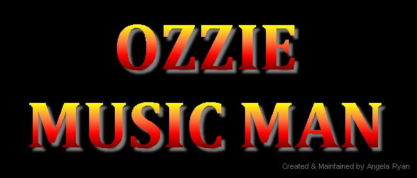 Ozzie Music Man