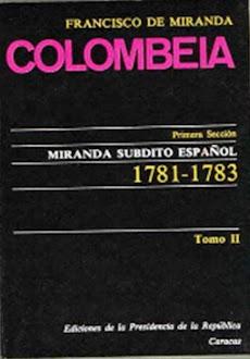 Colombeia: F. de Miranda