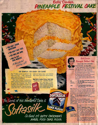 Finding Betty Crocker Vintage Cake Ads