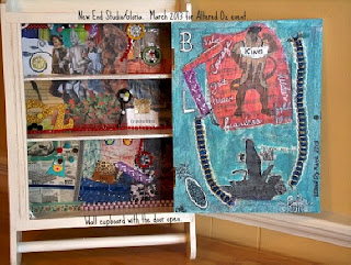 Celebrate Oz 2013 mixed media wall cabinet New End Studio