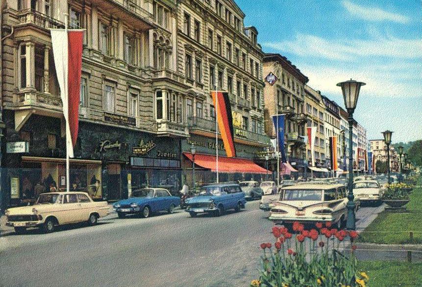 Transpress Nz Cars In Wiesbaden Germany Circa 1970