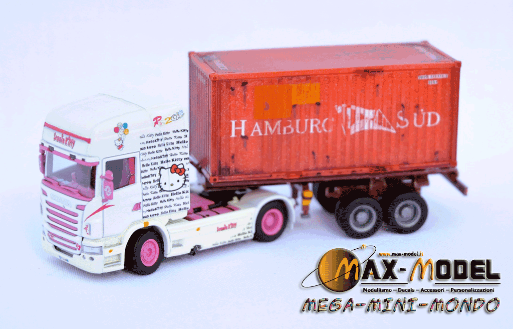 Scania r620 hallo kitty by max model for Cabina nel wyoming