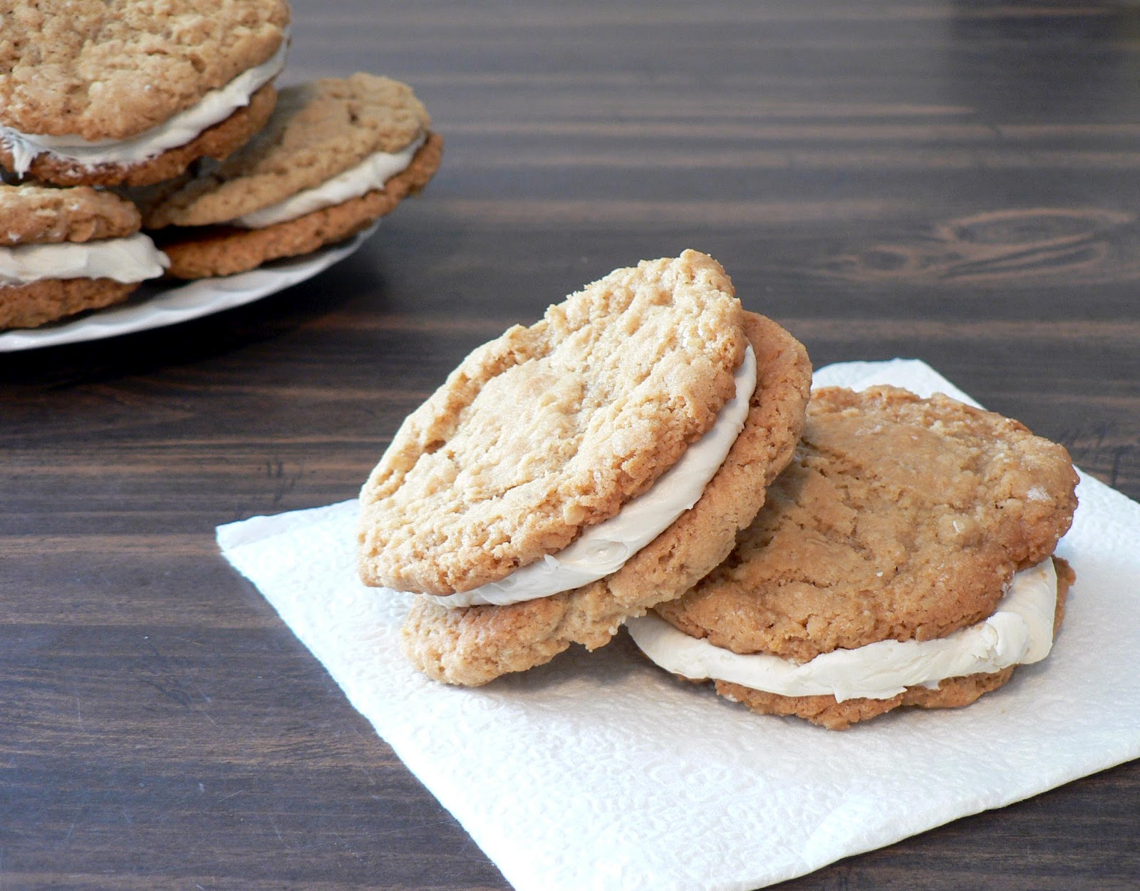 oatmeal cream pies from bakingdom chocolate oatmeal moon pies from