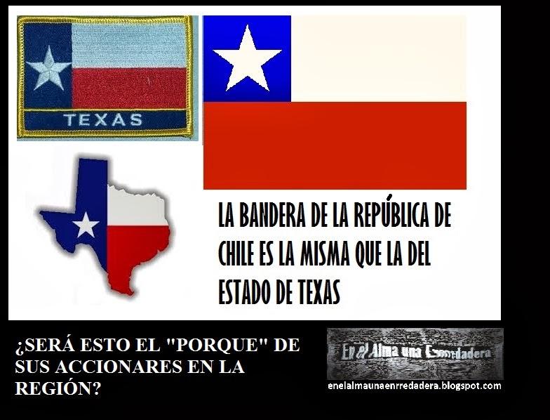 Resultado de imagen para bandera de texas y bandera de chile