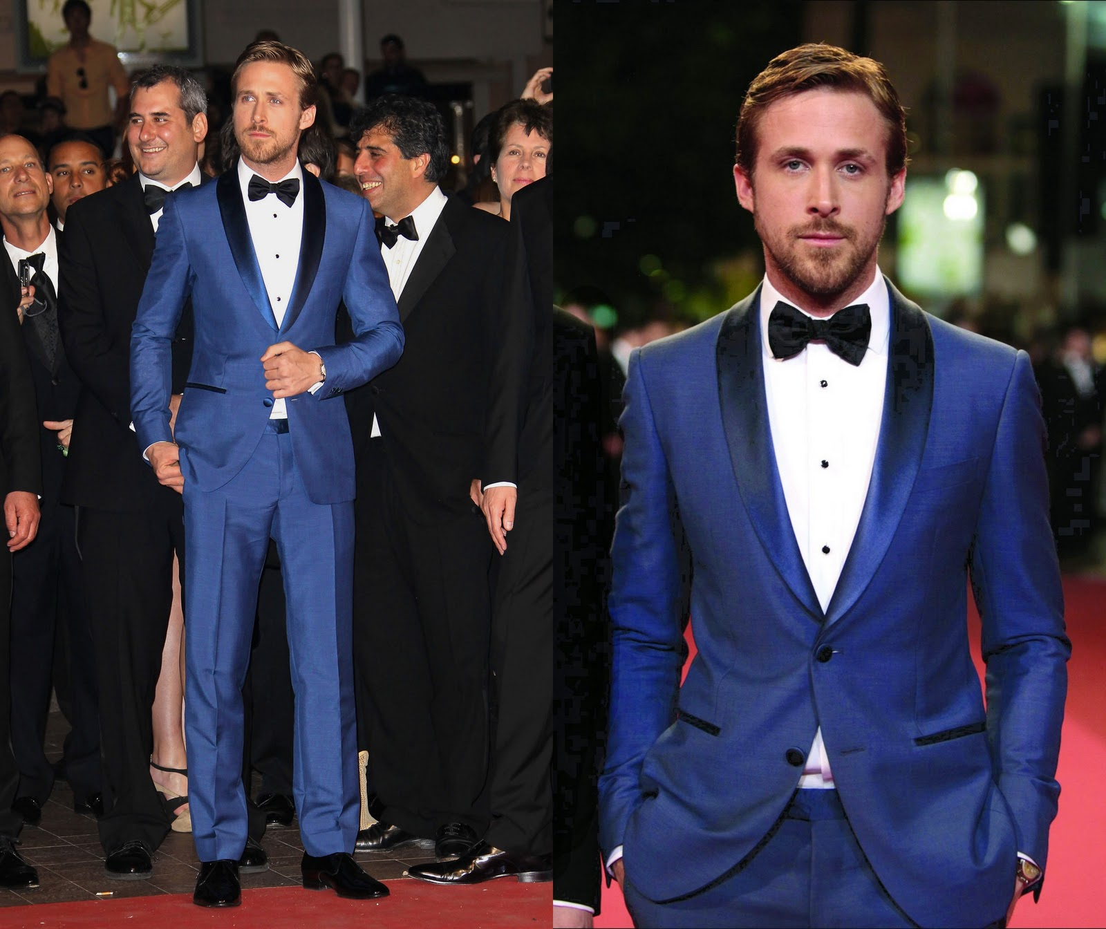 Ryan Gosling Suit (in salvatore ferragamo suit)