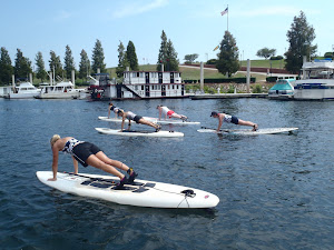 Boot Campers Stand Up Paddleboarding!