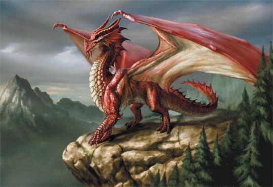 Battle Dragons - As Aventuras no Triângulo das Bermudas DragaoVermelho