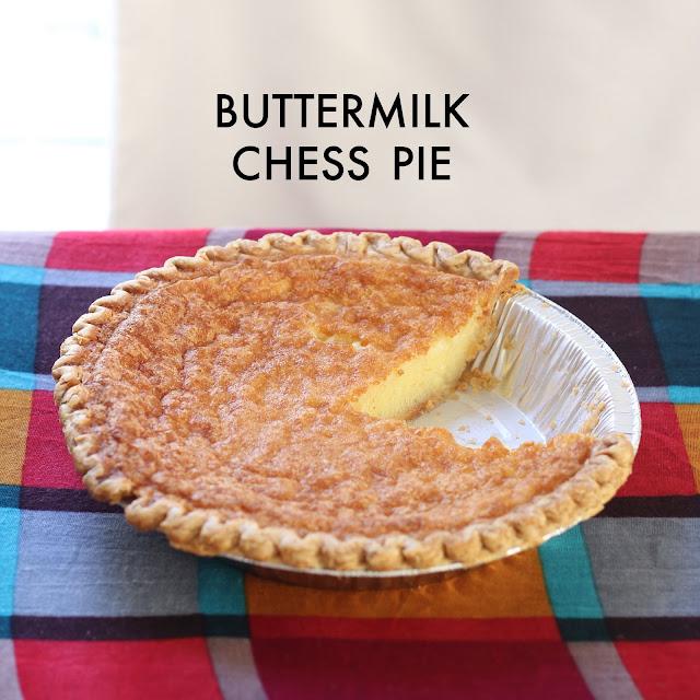 A classic buttermilk chess pie recipe
