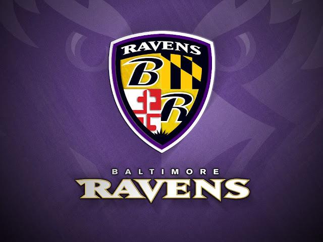 Baltimore Ravens Logo Centre