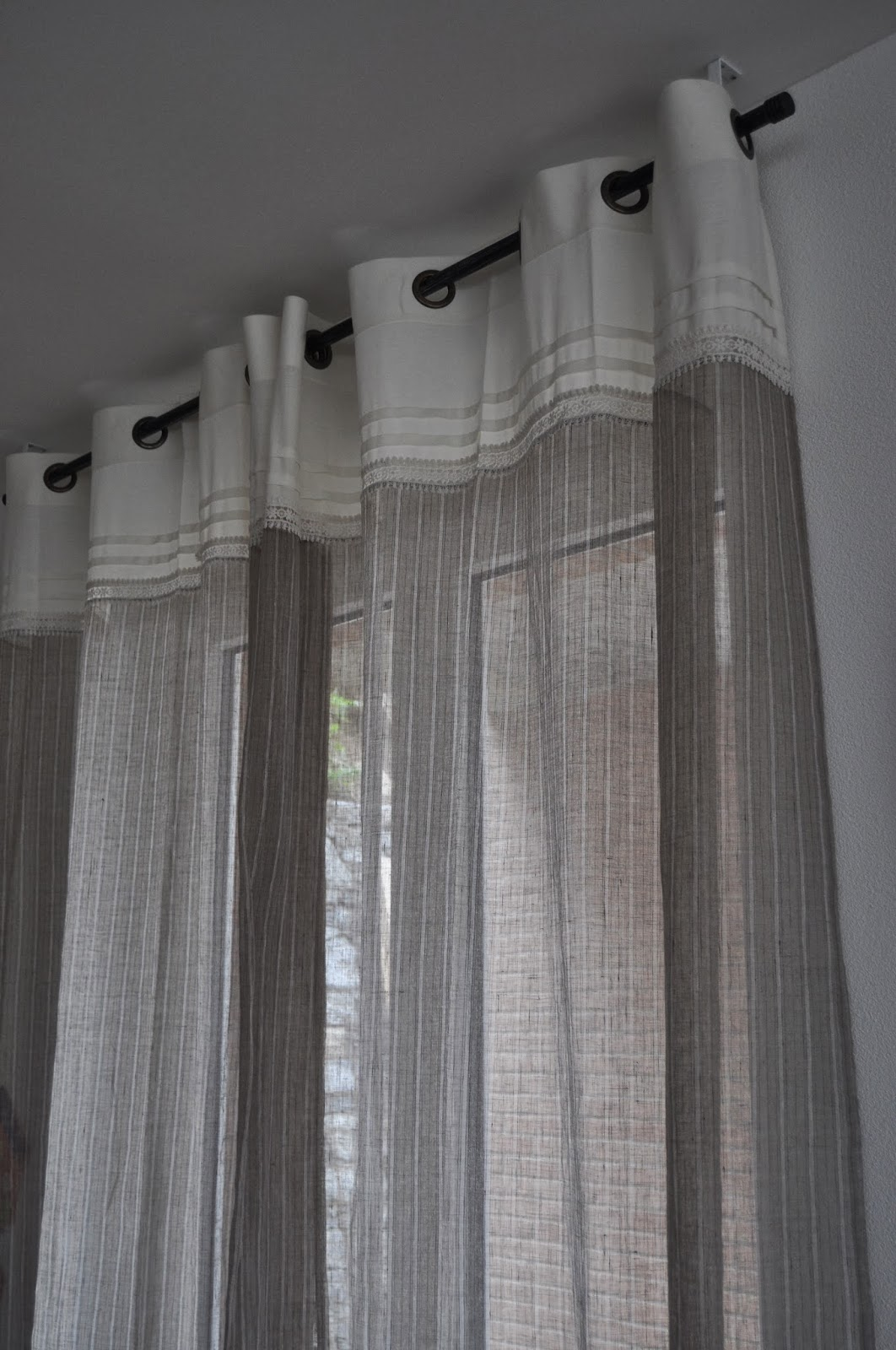 inspiration shabby: creare un soggiorno shabby chic - Tende Per Soggiorno Shabby 2