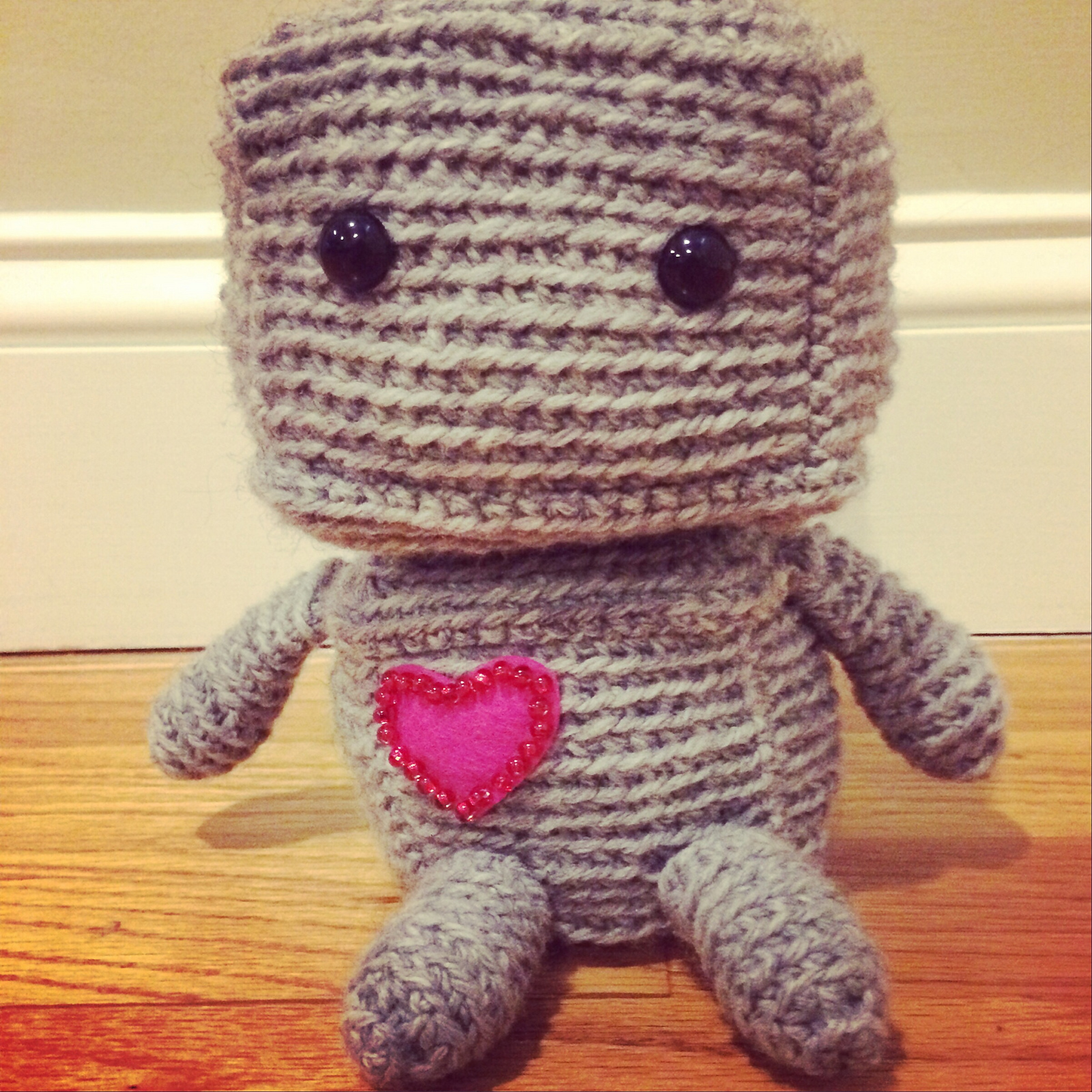 Amigurumi Robot Crochet Patterns : The Spicy Knitter: August 2014
