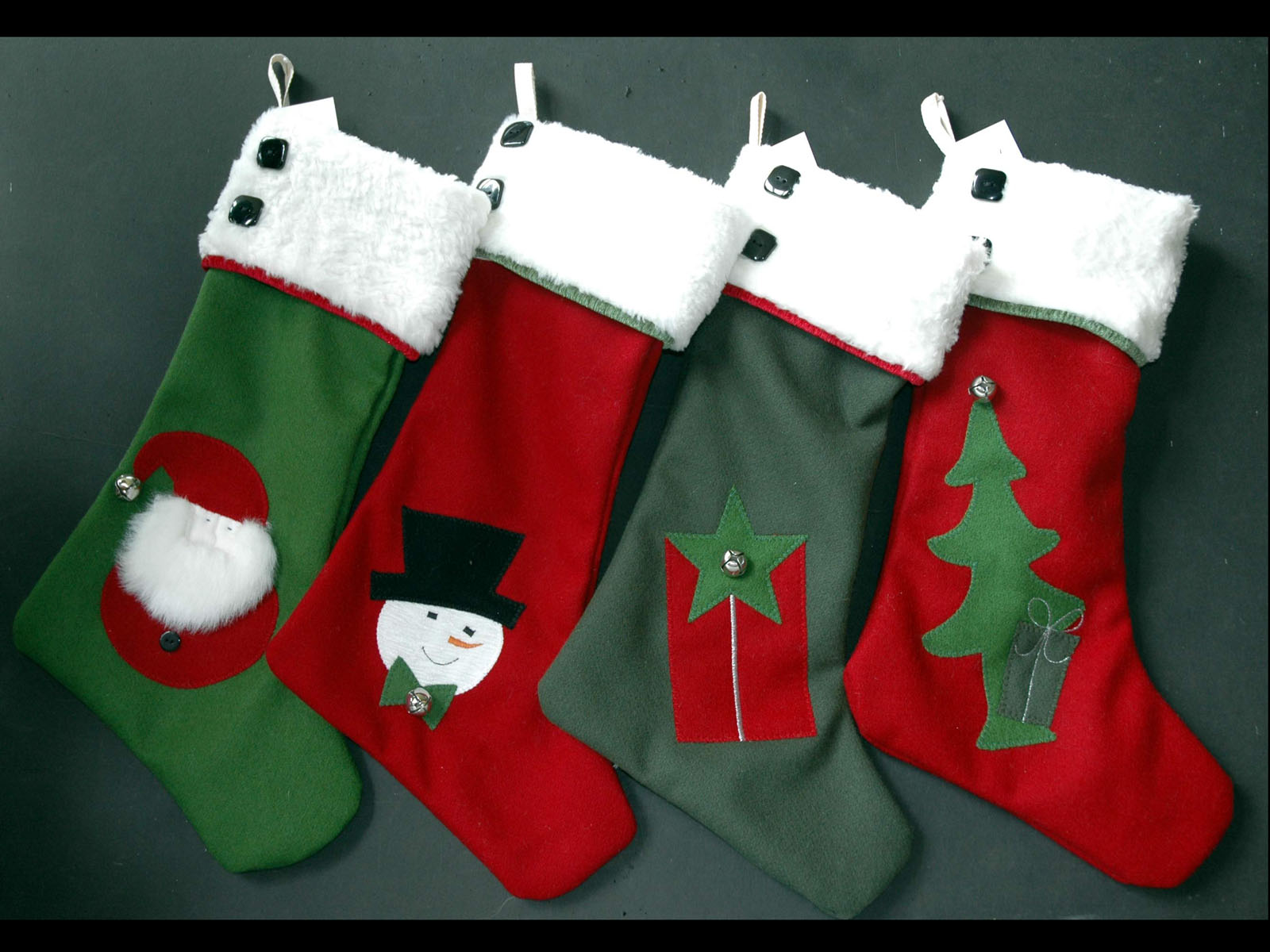 Teddy Bear Christmas Stockings