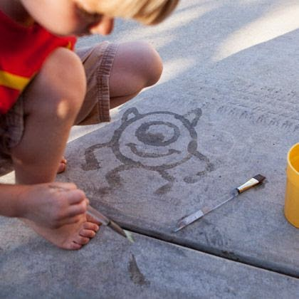 13 Outdoor Art Projects For Kids to Make