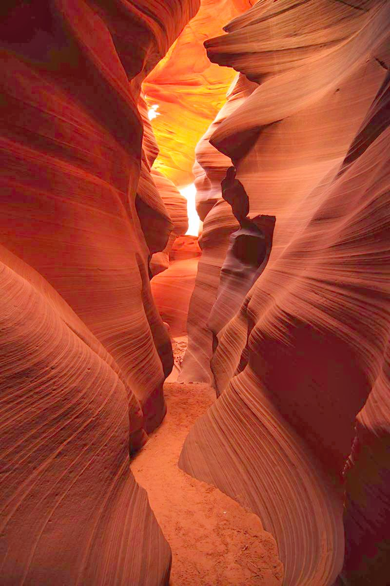 Antelope Canyon | Navajo, Arizona, United States | Never ...