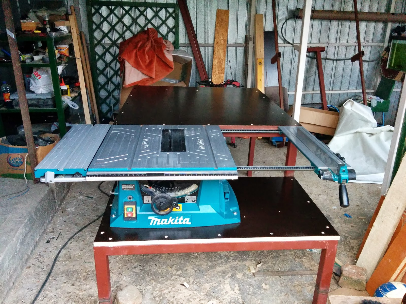 The Features That I Wanted To Keep From The Saw Are:   Sliding Table   To  Be Able To Extend The Table Saw Top. So Because I Wanted To Keep Those  Features I ...