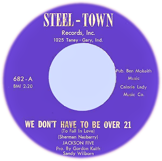 Steel - Town - Records, Inc - Gary - Ind / Pro. by Gordon Keith Sandy Wilborn