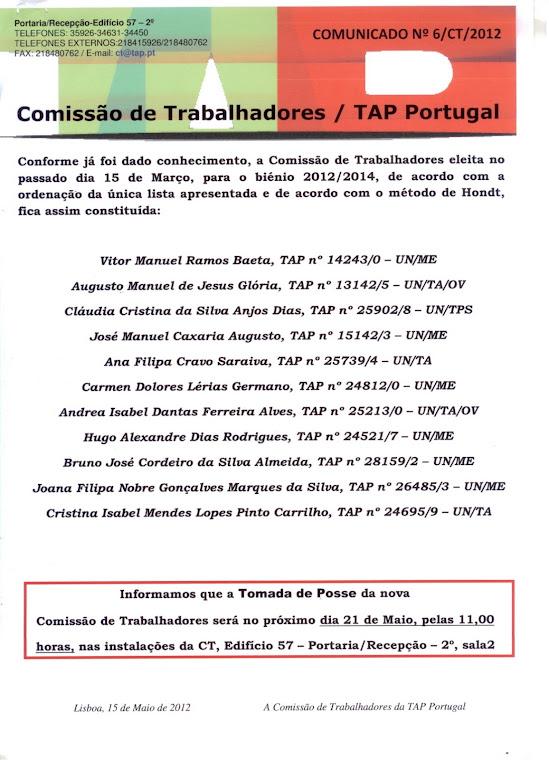 Comunicado 06/2012
