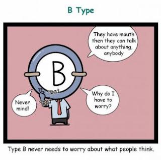 Fakta Golongan darah B