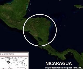 NICARAGUA vista aerea  2012