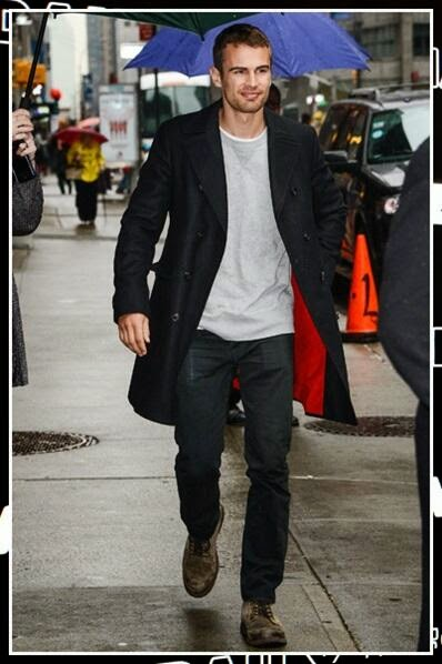 Celebrity Casual Style for Your Daily Look: THEO JAMES CASUAL STYLE